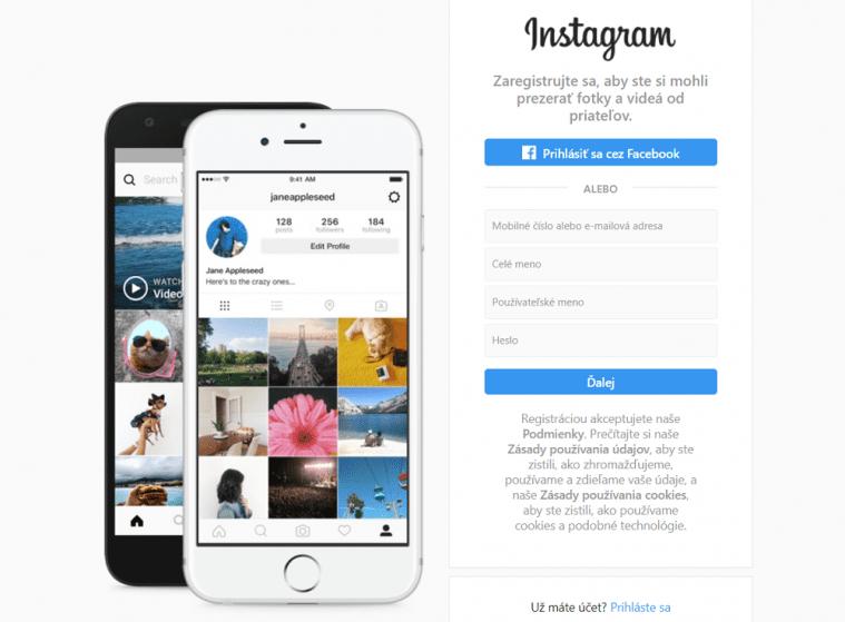 instagram-rozhranie-prihlasenie
