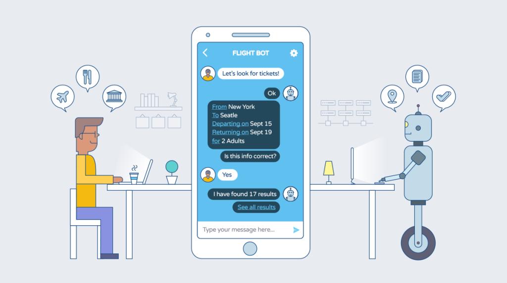 chatbot-ilustracia-komunikacia-so-zakaznikom-robot-a-clovek-automaticke-spravy-cetovacie-okno