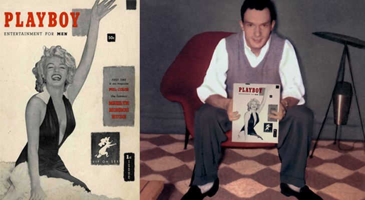 hugh-heffner-marilyn-monroe-playboy-prve-vydanie