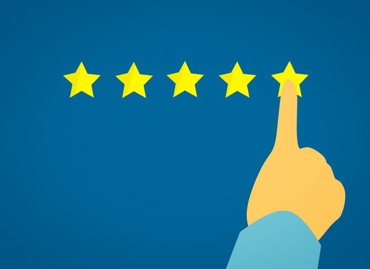 rating hodnotenie 5 hviezdiciek najvacsi najviac najlepsie vykon