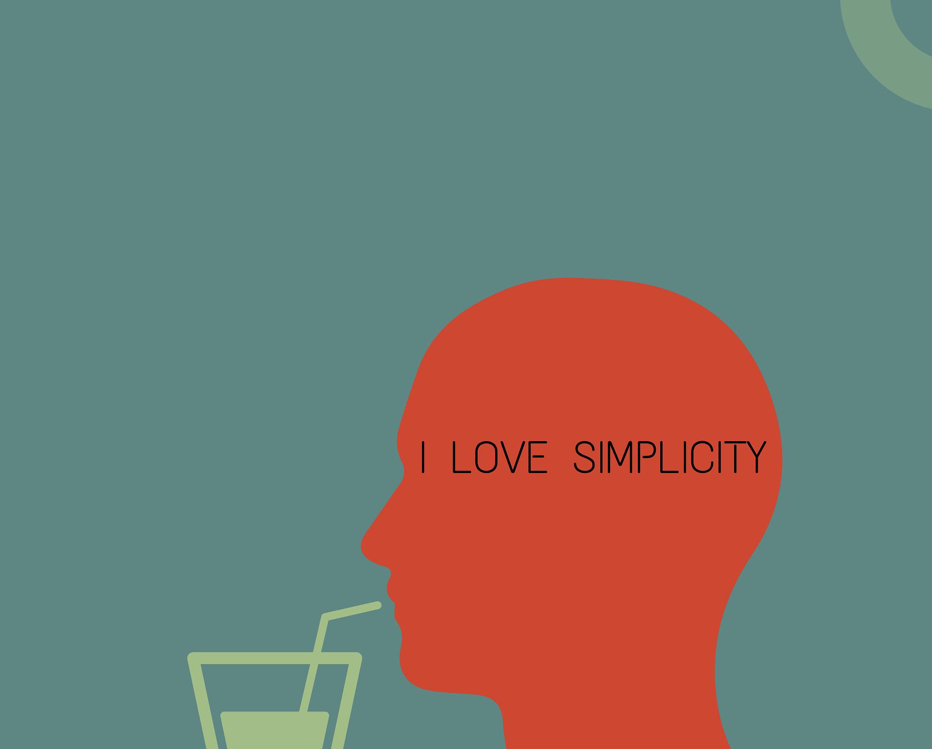 minimalizmus jednoduchost webdizajn dizajn design webstranka web online shop