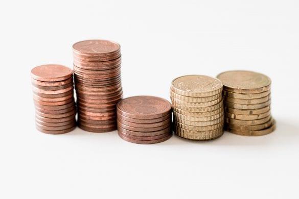 peniaze money drobne euro centy cent mince minca